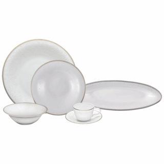 Karaca Fine Pearl Shawl 26 Parça İnci Kahvaltı Seti